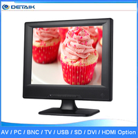 DTK-1203T Factory OEM Accepted TFT LED 12 inch TV