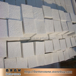 white granite cube Snowflake White Marble 10*10*10 for sale