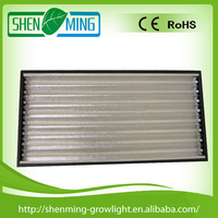 White Coated Mirror or Pebbled 8 Lamp 54W T5 HO Fixture