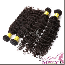 XBL top sale products, peruvian remy kinky curly human hair weft