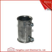 Emt zinc electrical connector quick coupling