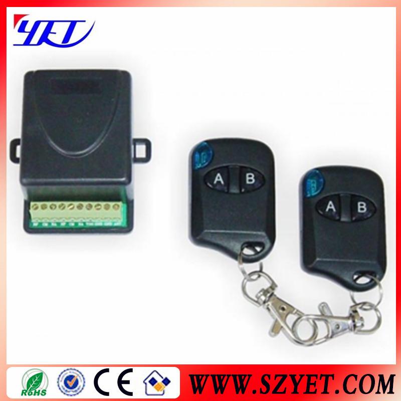 Garage door opener remote receiver wireless relays for 12v garage door opener remote