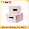 Reciclaje con cajas de zapatos de cartón de papel personalizado de alta calidad