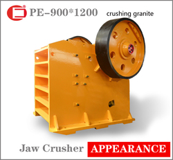Stock large pioneer granite crusher with ISO