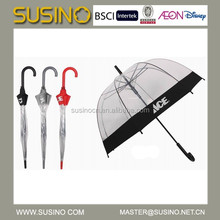 Popular Susino Auto Open Transparent Umbrella