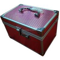 train cosmetic aluminum storage box