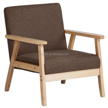 Modern wooden restaurant dining chair dining sofa