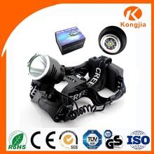 Aluminium Alloy Flashlight 10W LED Most Powerful Led Torch Light Rechargeable Flashlight Safety Helmet Headlamp