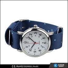 unisex quartz watch movement woven strap
