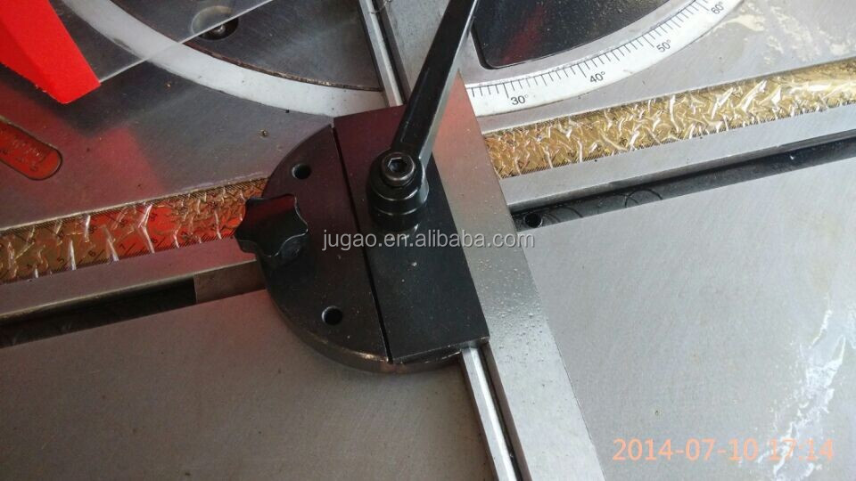 QC28Y-4X200 V Angle Notcher making angle hole in steel sheet