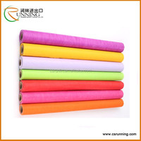 Printed polyester pp non-woven felt fabric for flower wrapping and gift wrapping