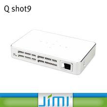 Concox Q Shot9 300''Big Screen Digital 3D HDMI USB Video Game LED handheld beamer art projector