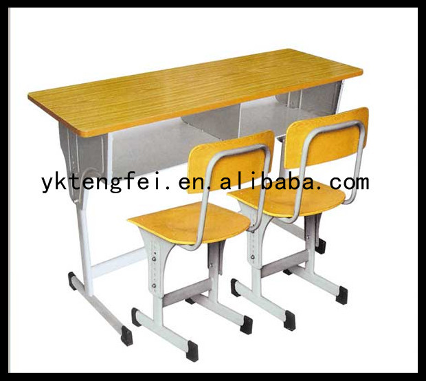 Wooden School Double Desks And Chairs Student Table Writing Desk Buy Double