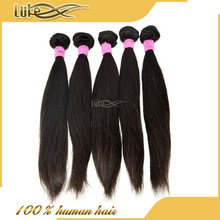 Hot Selling Grade 7A Full Cu Wholesale Silky Straight Hair Natural Color Top Quality Brazilian Hair Long Straight Hair