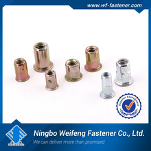 china manufacturers suppliers Close End Countersunk Head Rivet Nuts good quality rivet nut