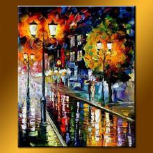 Modern Landscape Picture Digital Print Cheap Canvas Painting