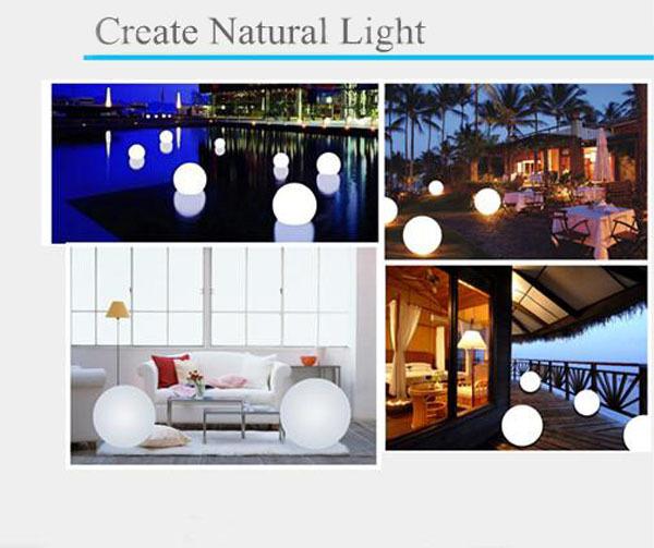 Binnen en buiten opknoping plastic decoratieve led ball lights led bal licht outdoor andere - Nachtclub decoratie ...