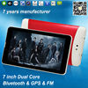 7''tablet google android os laptop mini tablet pc 3g sim card android tablet ZXS-MTK-706