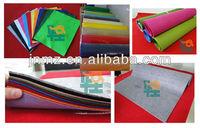 High properties of felt fabric, polyester needle felt fabric for hot sale