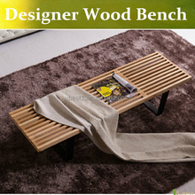 High quality solid wood Changing bench