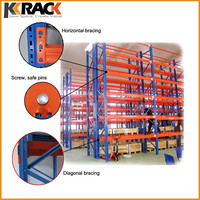 Quick Install Heavy Duty Pallet Rack