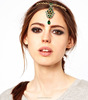 classic indian jewelry for princess, gemstone jewelry india forehead hair accessory