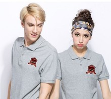 High Quality Fashion Couple Uniform POLO Shirt Design
