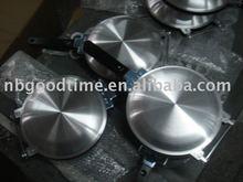 aluminum pancake pan , perfect pancake pan , double pancake frying pan