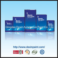 2015 DEXIN series clear coat for car paint