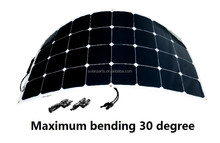 The best high quality 100W Sunpower Semi Flexible Solar Panel for boat