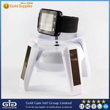 Solar power rotating display stand,for smart watch solar dispaly stand