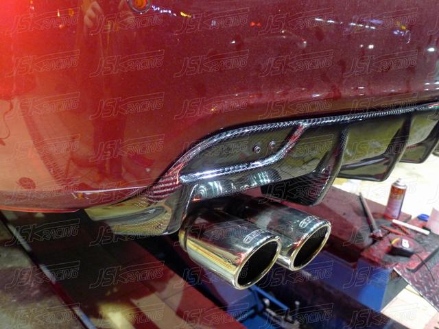 Fibre de carbone diffuseur arrière pour CHEVROLET CRUZE