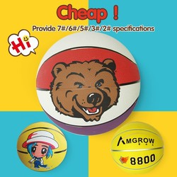 Different Size Training rubber made basketball size 7