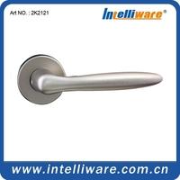 Classic cheap wood door lock handle with rosette