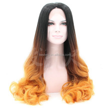 2015 factory price new style Wholesale front lace synthetic wig