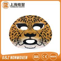 Nonwoven Print Facial Mask Sheet