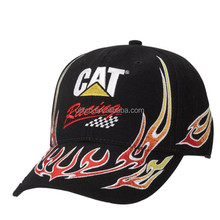 2015 top quality racing caps/heavy brushed racing caps/embroidery racing caps