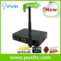 Smart TV Box U8 Google Android 4.4 Quad Core RK3288 XBMC Wifi Media Player ARM A1764 Mini PC