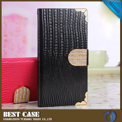 luxury diamond design flip cover wallet leather case for samsung galaxy s5