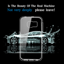 Hot Sales Crystal Transparent Cell Phone Case For Samsung Galaxy S6 Edge