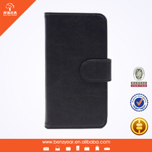 Hot selling cheap 4.7 inch PU leather custom mobile I phone6 wallet cell phone case