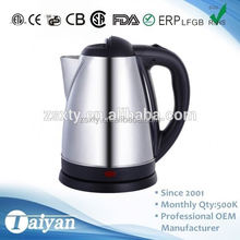 1.8L DE 1801 2015 Hot Sale Fast heating electric kettle lowest price For Small Home Appliance