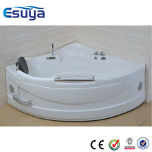 Indoor corner spa hot tub, whirlpool spa, Massage Bathtub