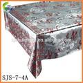 de encaje de plata en relieve mantel con el diseño caliente