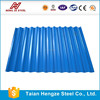 high strength galvanzied/Al-Zn alloy coated /prepainted corrugated steel sheet