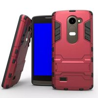 Hot Selling Iron-Bear Rugged Hybrid Stand Shockproof Phone Case For LG Leon c40
