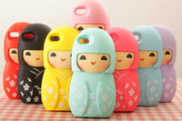 Cute Cartoon Doll Silicone Mobile Phone Cover Case For iPhone 5G From Alibaba China