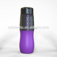 21oz Portable colorful silicon rubber case for bottle