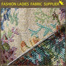 E 2015 fashion ladies dress fabric High quality good price decorative classic jacquard fabric for curtain