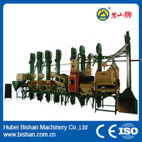 50-60 per day economical high efficiency rice hulling and milling